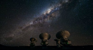 ALMA telescope spies some of the first galaxies ever formed